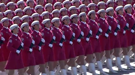 China PLA women Army National Day Parade 2009 中华人民共和国 60