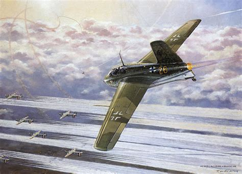 Abductions, UFOs and Nuclear Weapons : Messerschmitt Me