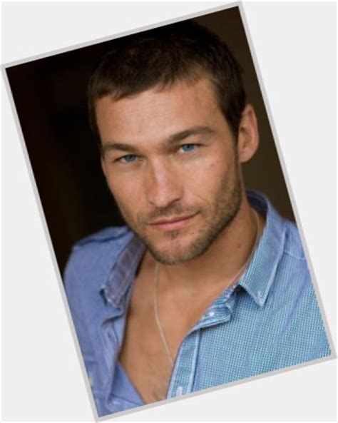 Andy Whitfield | Official Site for Man Crush Monday #MCM