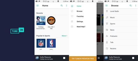 Tunein Radio App Best Free Andriod APK File (With images