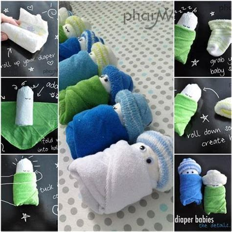 Learn How To Make Cute Adorable Diaper Babies - Find Fun