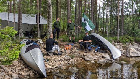 Wilderness excursion with Nest 2   Nordic Resistance Movement