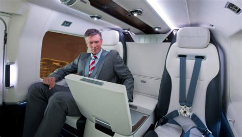 Airbus Helicopter Features Mercedes-Benz Interior