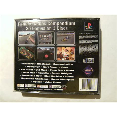 Family Games Compendium: 20 Games for Playstation 1