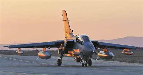 Missiles Become 'Detached' From British Tornado Fighter