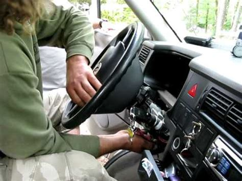VW T4_Démontage airbag - YouTube