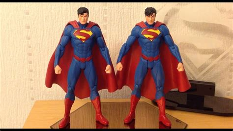 DC Collectibles New 52 Superman Figure Review (both