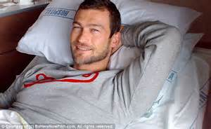 Widow of Spartacus's Andy Whitfield says seeing