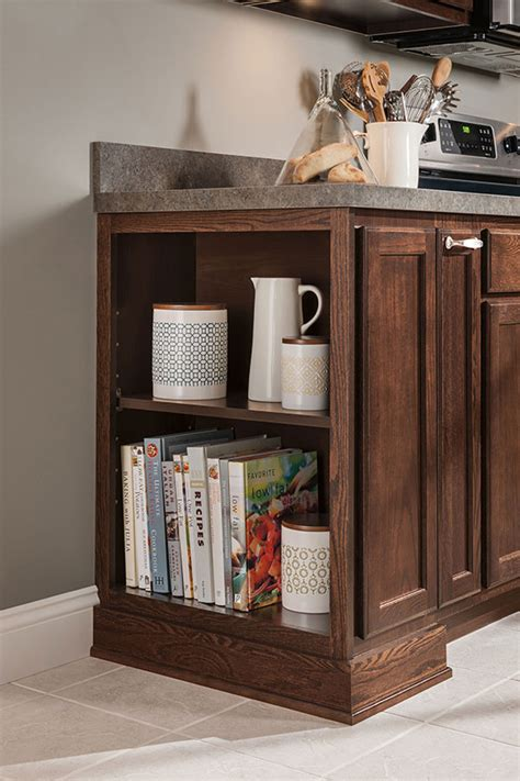 12 Inch Deep Open Base Cabinet - Aristokraft Cabinetry