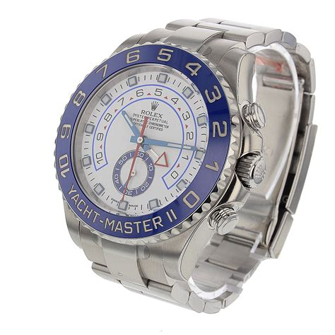 Rolex Yacht Master II White Dial Stainless Steel 44 mm