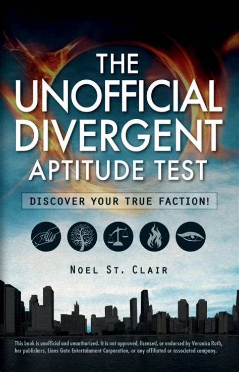 Book Review: The Unofficial Divergent Aptitude Test