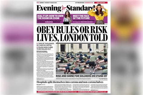 Evening Standard pledges to support readers through Covid