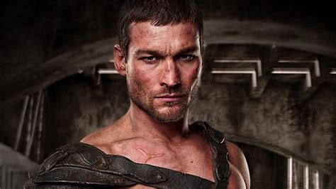 Actor Andy Whitfield who starred as Sparticus in Spartacus