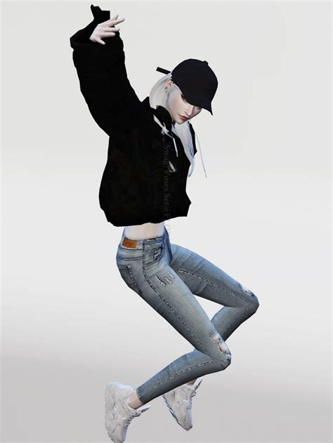 Swag! Poses Set at Flower Chamber » Sims 4 Updates