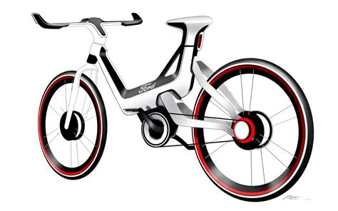 Pedal Power: Ford Shows E-Bike Concept In Frankfurt