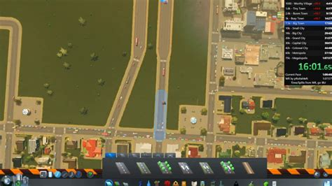 Playing Cities Skylines fast! all Milestones in 1