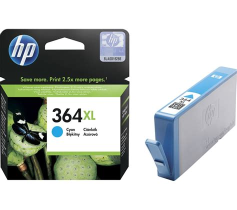 Buy HP 364XL Cyan Ink Cartridge   Free Delivery   Currys