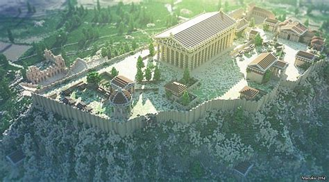 The Acropolis of Athens Minecraft Map