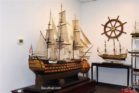 HMS Victory Museum Quality 10 feet - Handcrafted Wooden