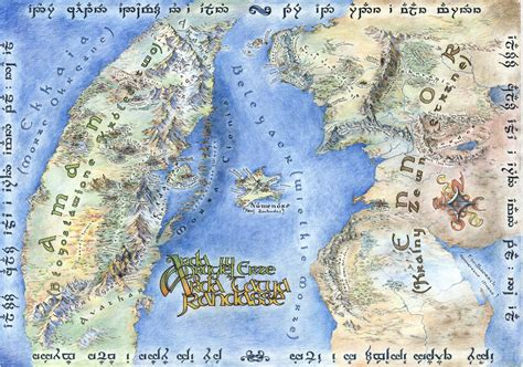 On the Subject of Maps (Good and Bad) : lotr