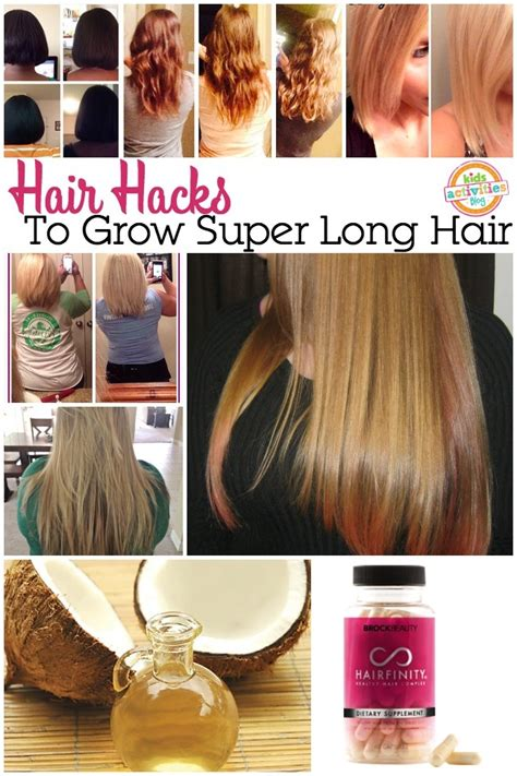 HAIR HACKS TO GROW OUT YOUR HAIR - Kids Activities