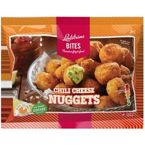 Chili Cheese Nuggets, Lindströms Bites,250 - Mat