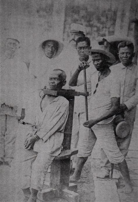 Methods Of Execution: The Garrote   The spanish american