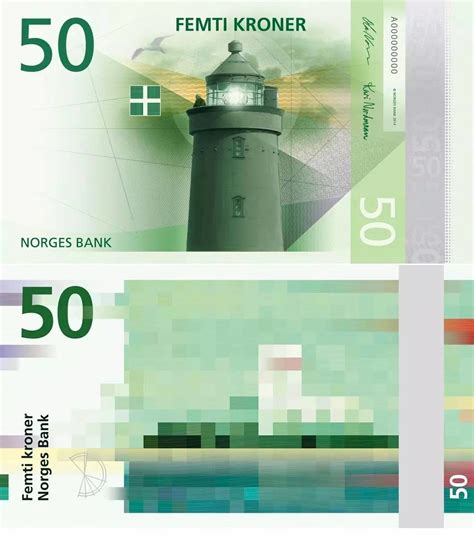Norway's new pixelated banknotes are gorgeous